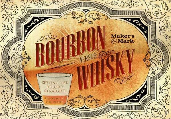 bourbon whisky americano diferença