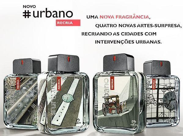 novo perfume natura urbano