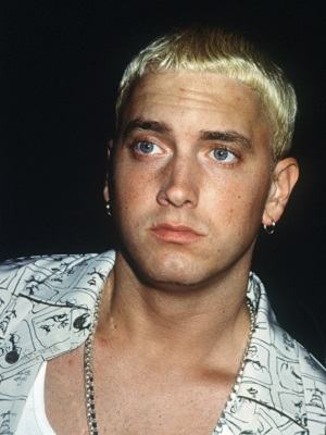 : '99 MTV VIDEO MUSIC AWARDS METROPOLITAN OPERA HOUSE, NYC 09/09/1999 EMINEM PHOTO BY HENRY McGEE/GLOBE PHOTOS,INC.