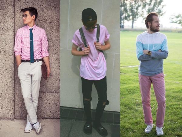 cor do verao moda masculina