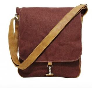 bolsa de lona masculina