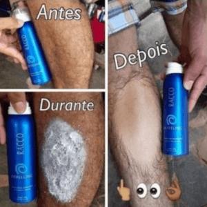 creme depilatório da racco