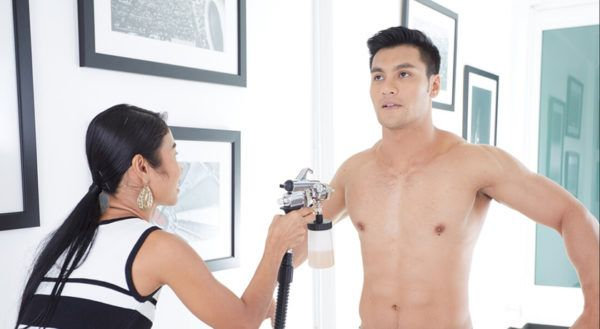 bronzeamento masculino